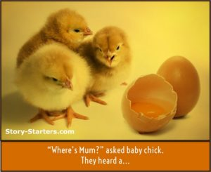 Featured Image of Lost Chicks Writing Prompt for Kids