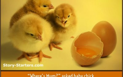 Lost Chicks Writing Prompt for Kids