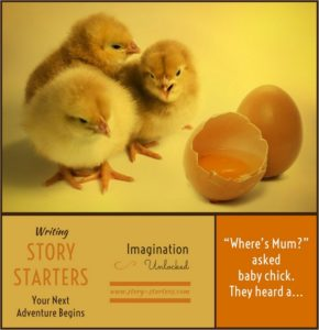 Image of Lost Chicks Writing Prompt for Kids
