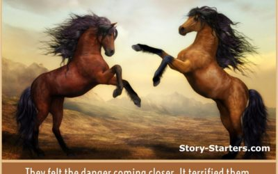Horse with Picture Writing Prompt for Kids